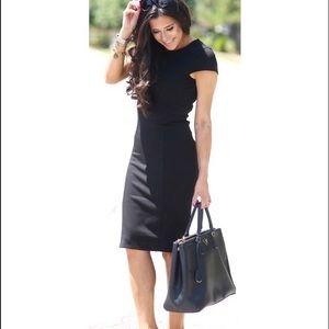 CAbi Claire Black Dress